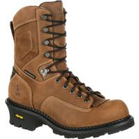Georgia Boot Comfort Core Logger Waterproof Work Boot, , medium