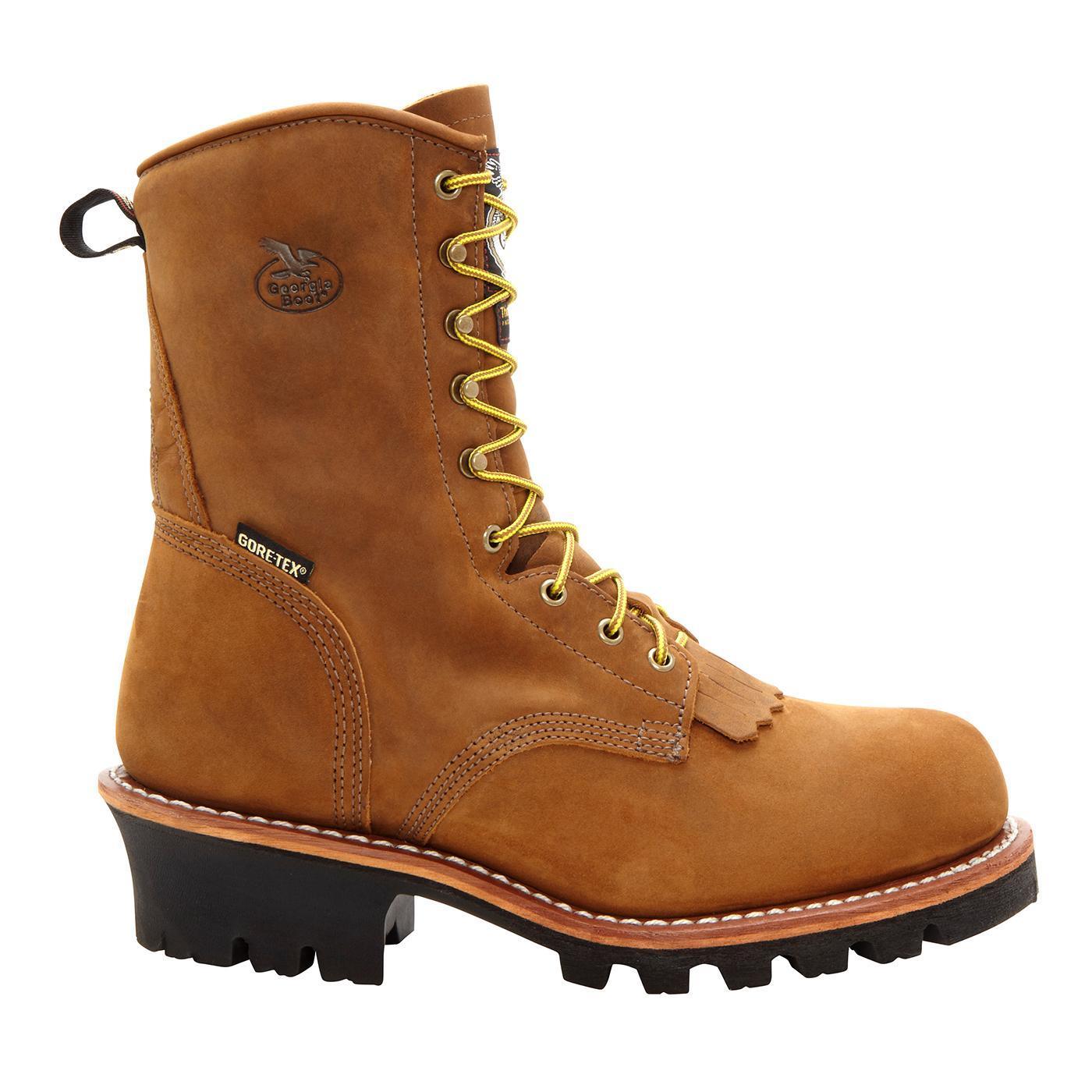 Georgia Boot Men S 8 Quot Gore Tex 174 Insulated Logger Work