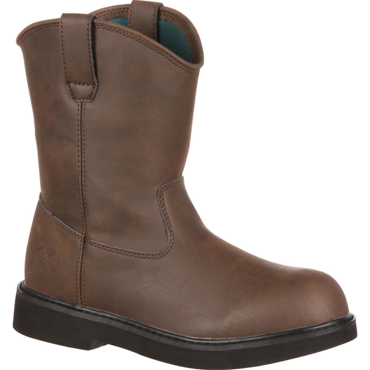 Georgia Boot Big Kid Comfort Pull On Boots Style G100