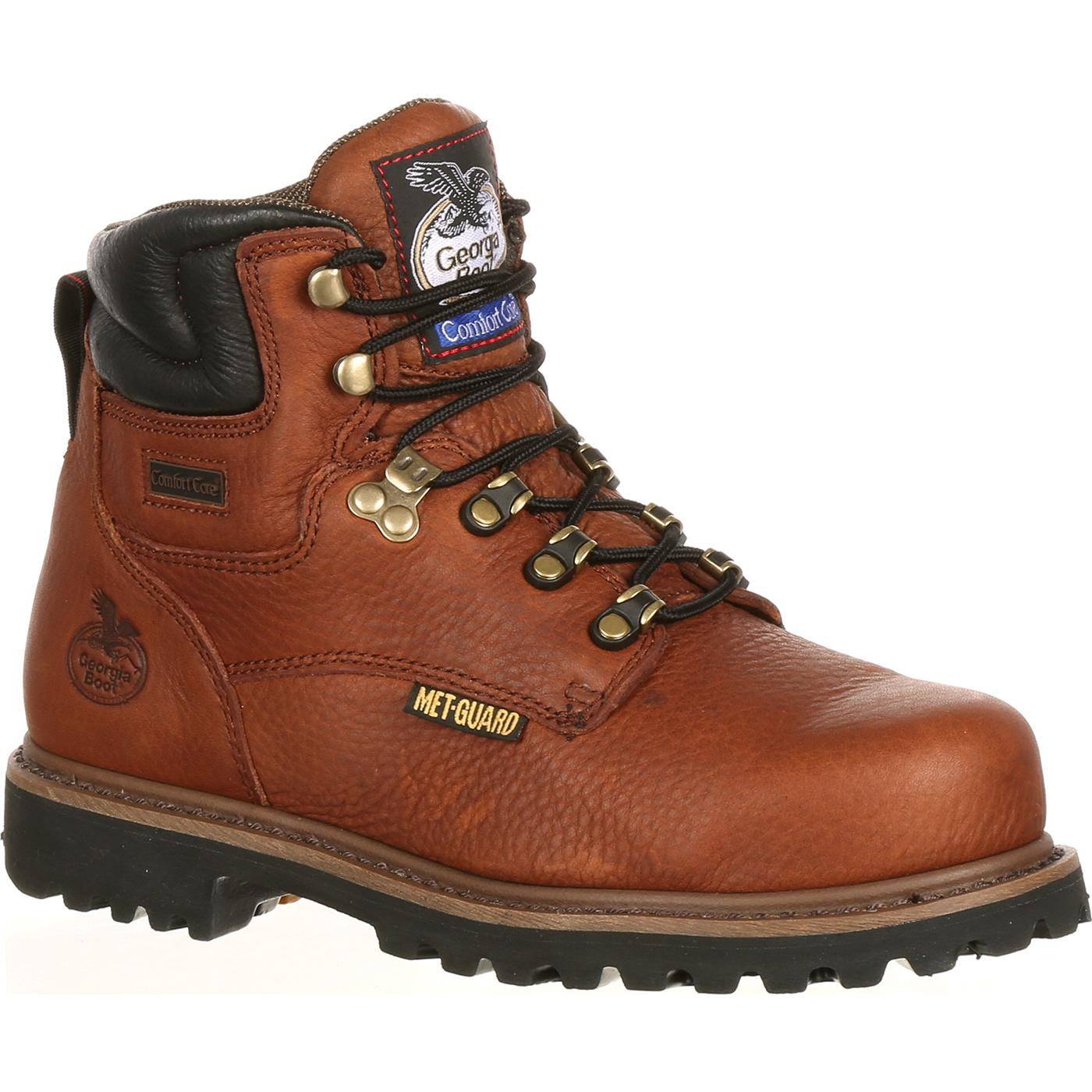 5c613f340ec Georgia Boot Hammer Internal Metatarsal Steel Toe Work Boot