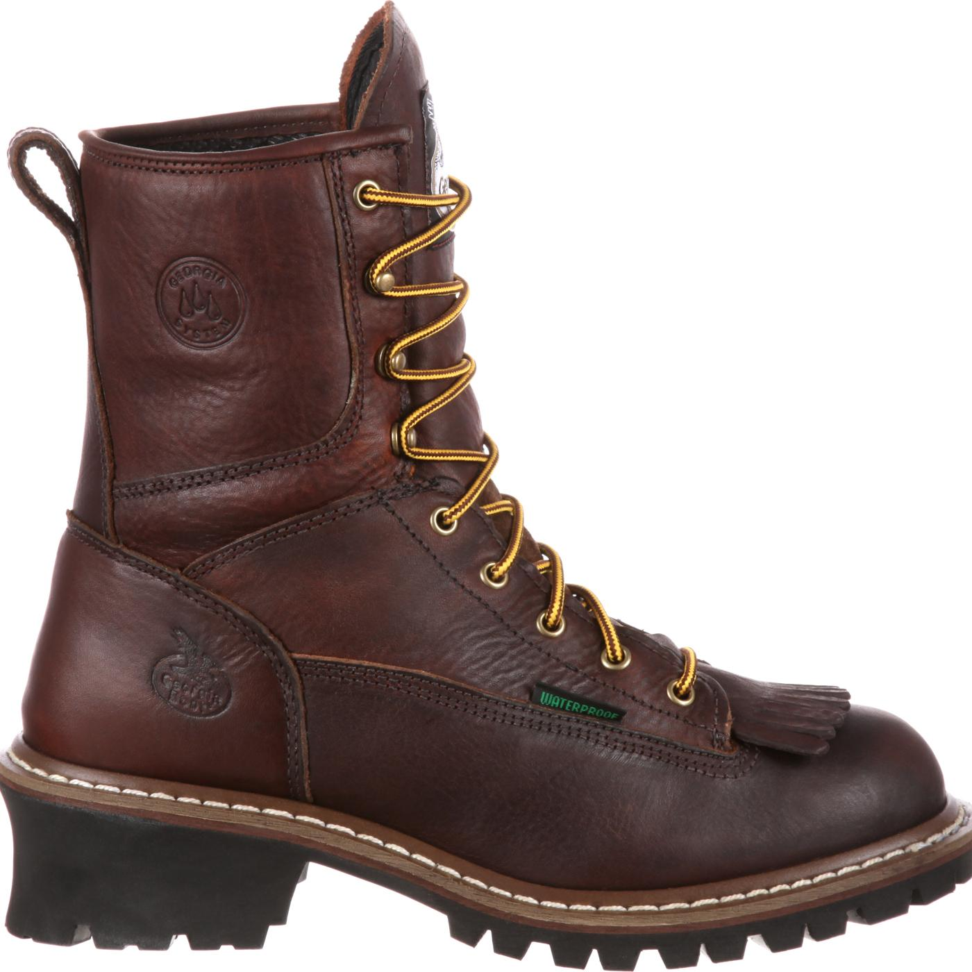 Georgia Boot Waterproof Logger Work Boots Style G7113