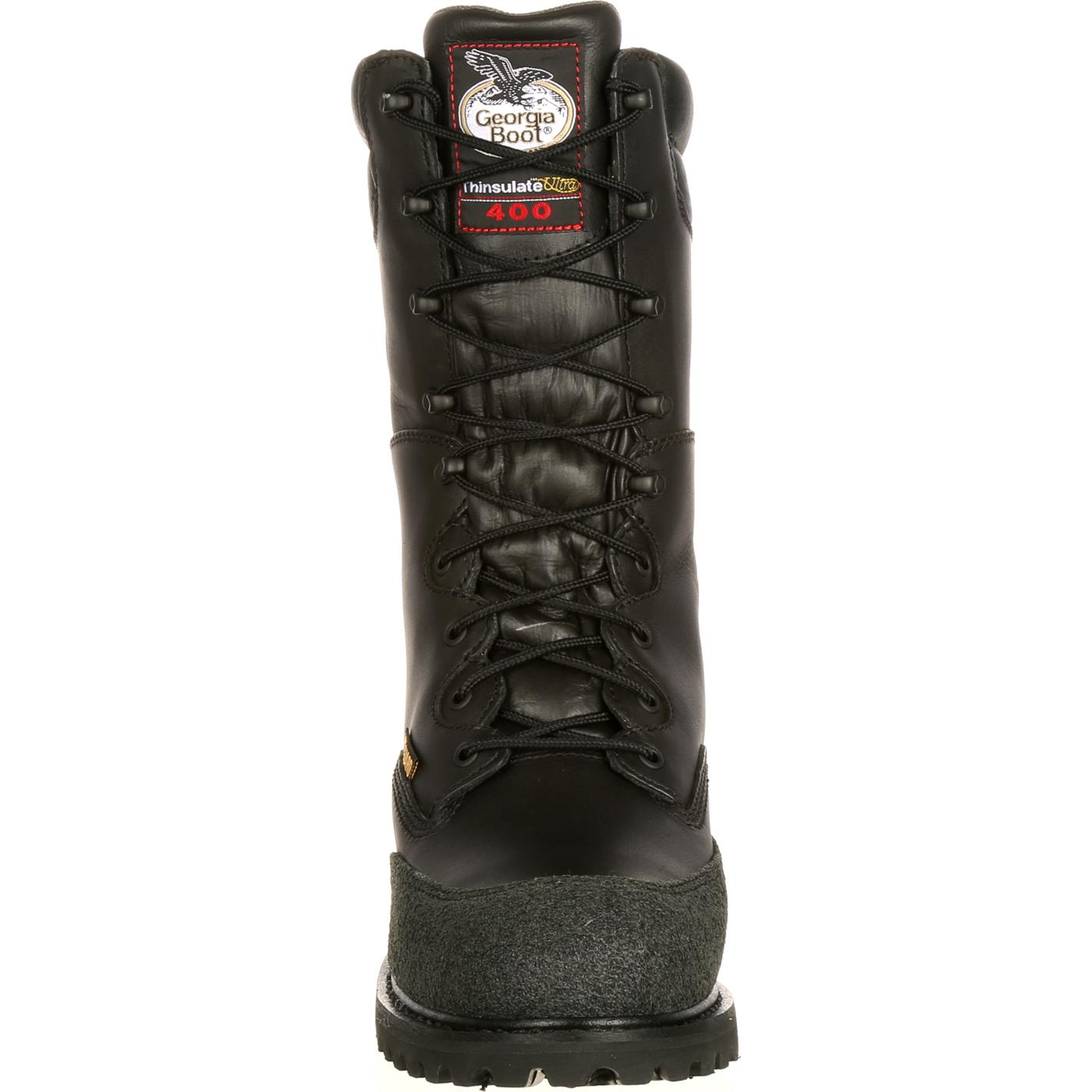Georgia Met Guard Waterproof Insulated Miner Boot, #G9330