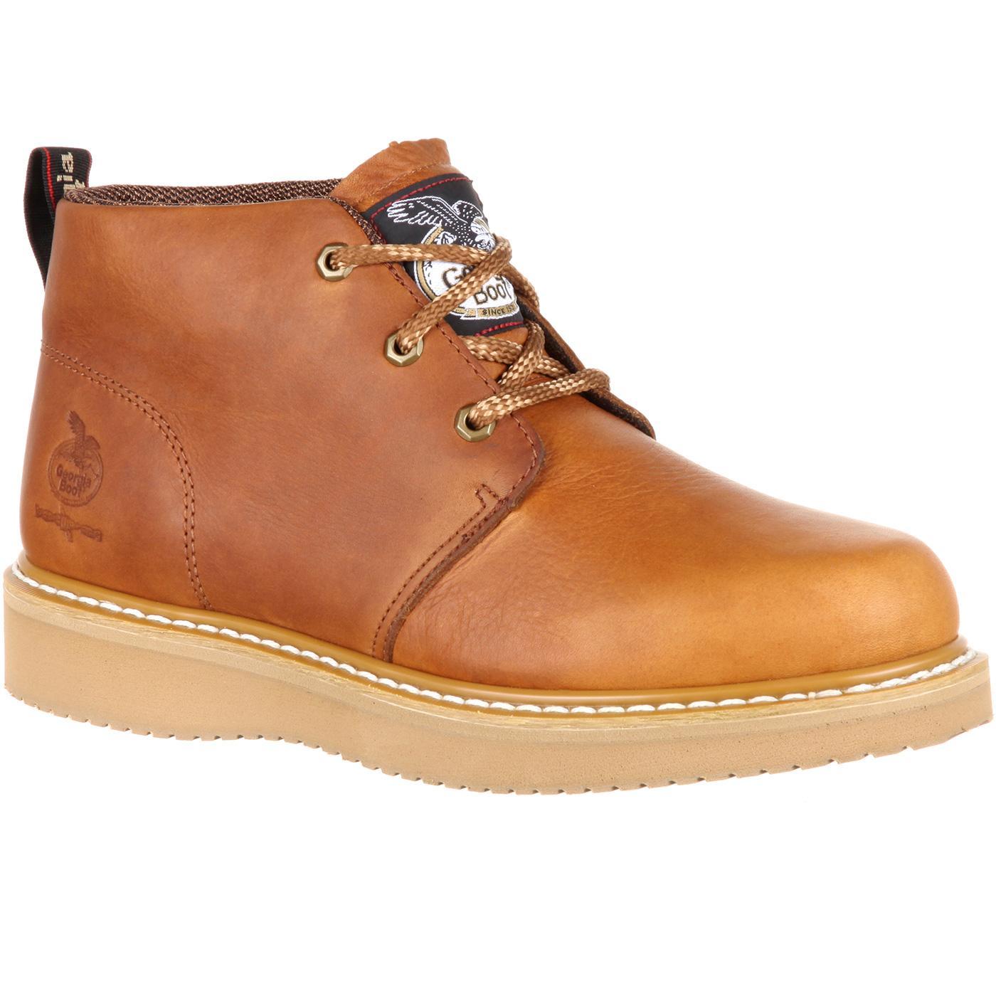 3e9fa02f0c6 Georgia Boot Wedge Chukka Composite Toe Work Boot