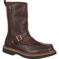 Georgia Boot Side Zip Waterproof Work Wellington, , medium
