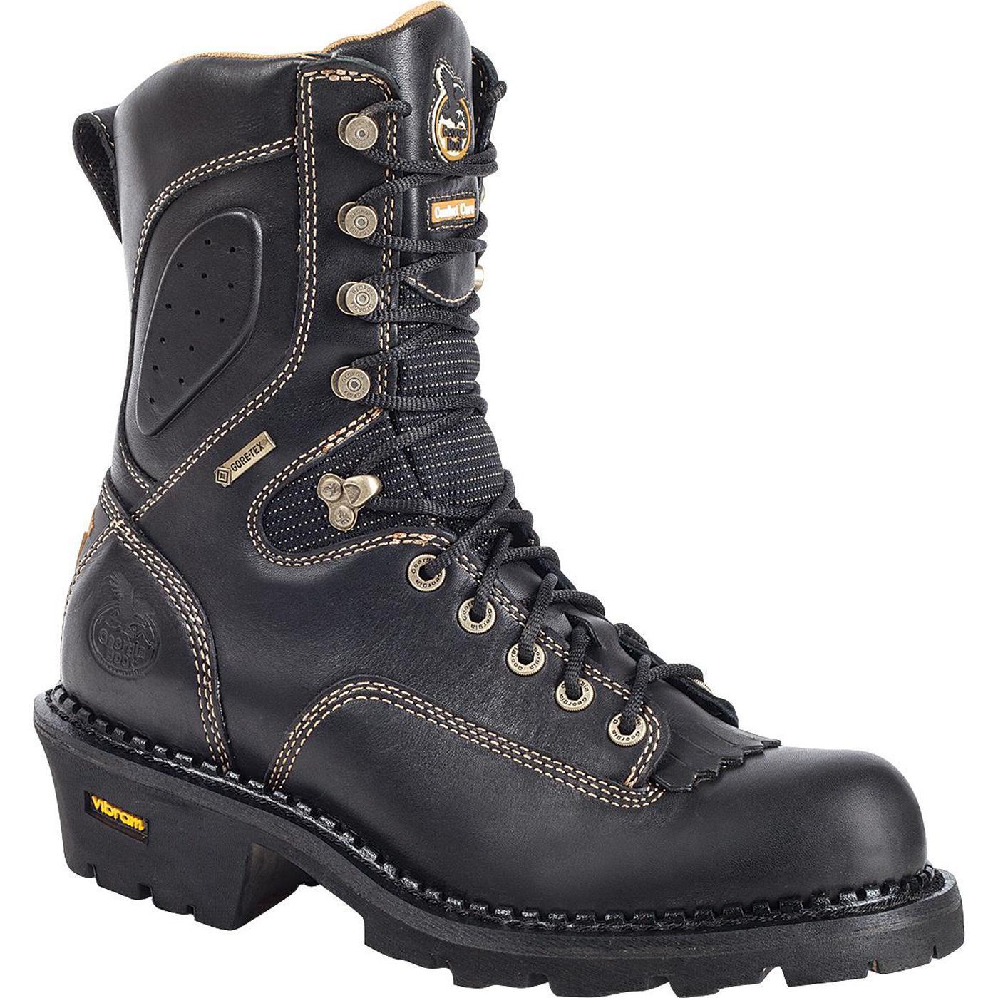 Georgia Boot GORE-TEX® Men's Comfort Core® Logger Work Boots ...
