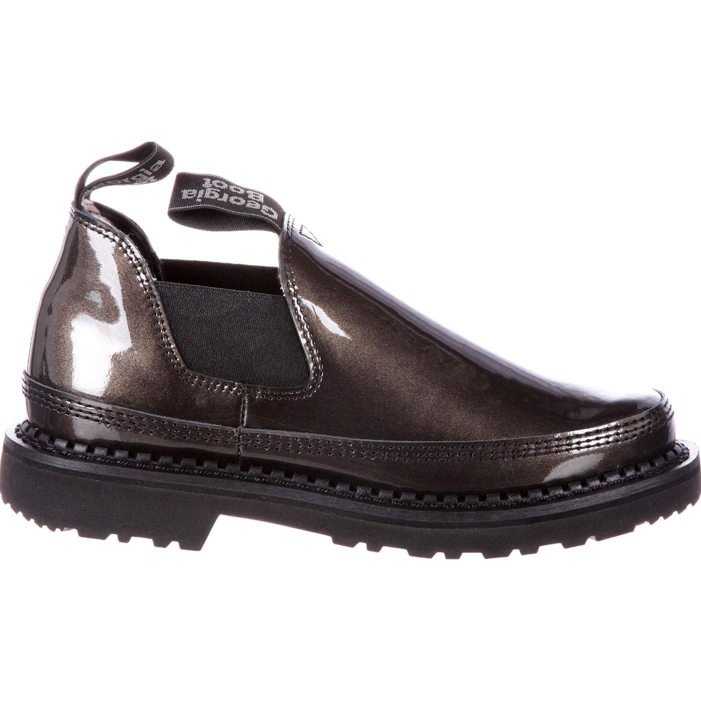 c47f192b511 Georgia Giant  Women s Black Patent Leather Romeo Shoes