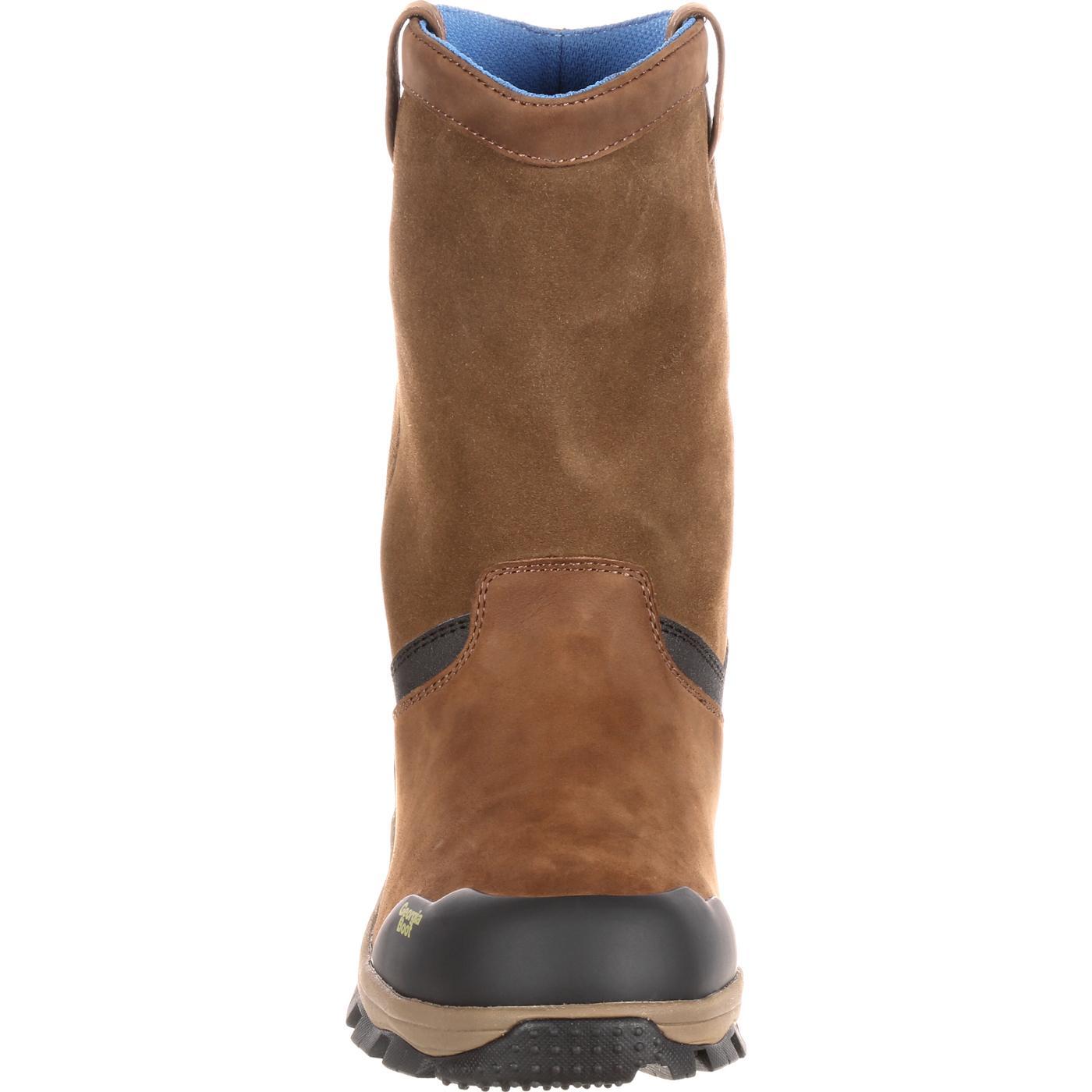 09650be9c96 Georgia Boot Blue Collar Waterproof Work Wellington