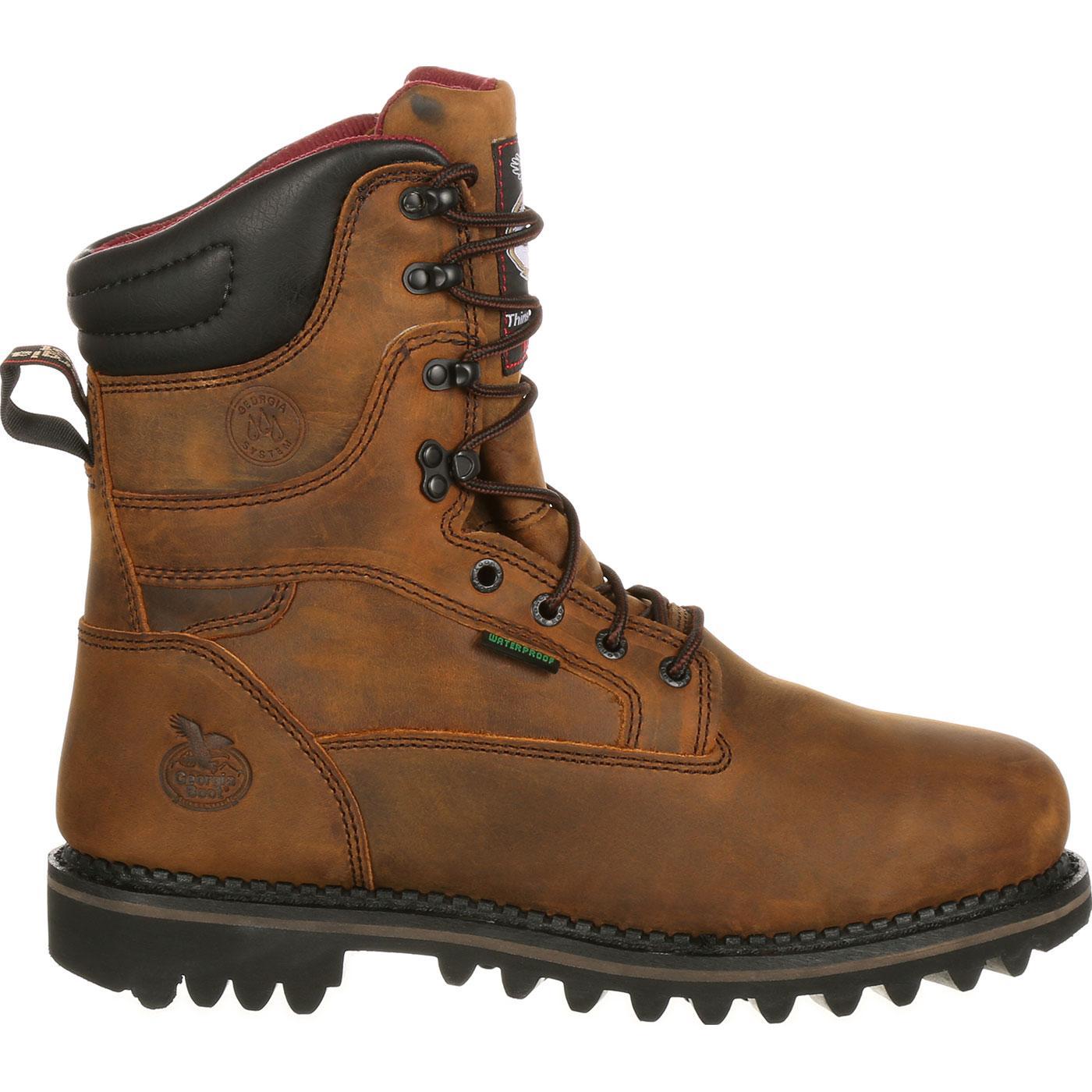 0999ae82817 Georgia Boot Arctic Toe Waterproof Insulated Work Boot