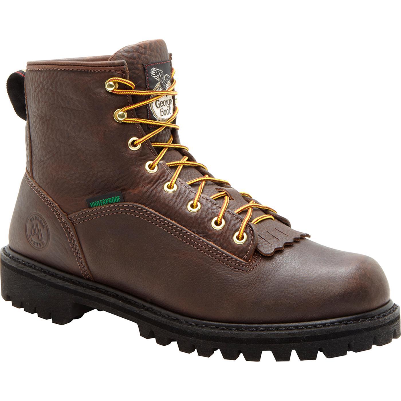 904d6b8b181 Georgia Boot Waterproof Logger Work Boot