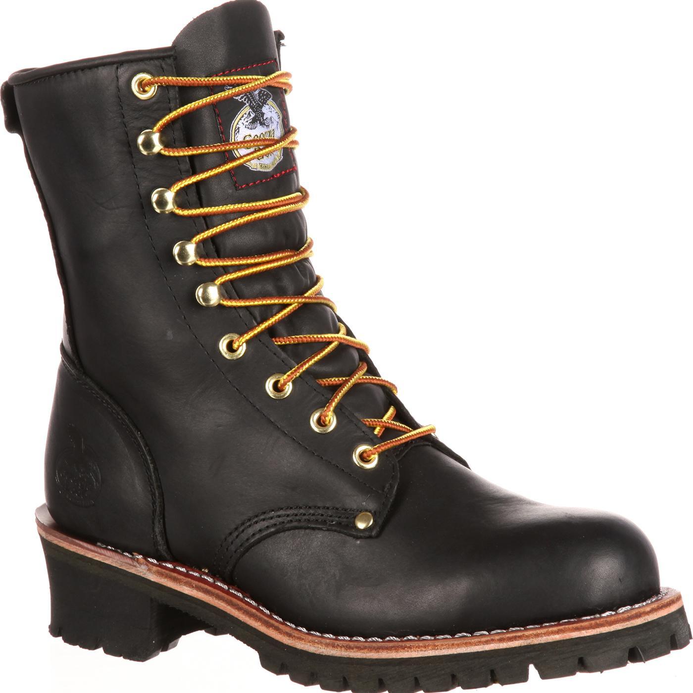 Georgia Boot Homeland Men's ... 8-in. Waterproof Work Boots jX38KF1d