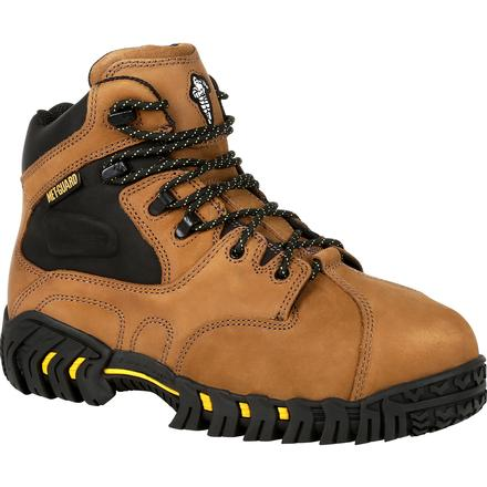 Michelin Steel Toe Internal Met Guard Work Boot, , large