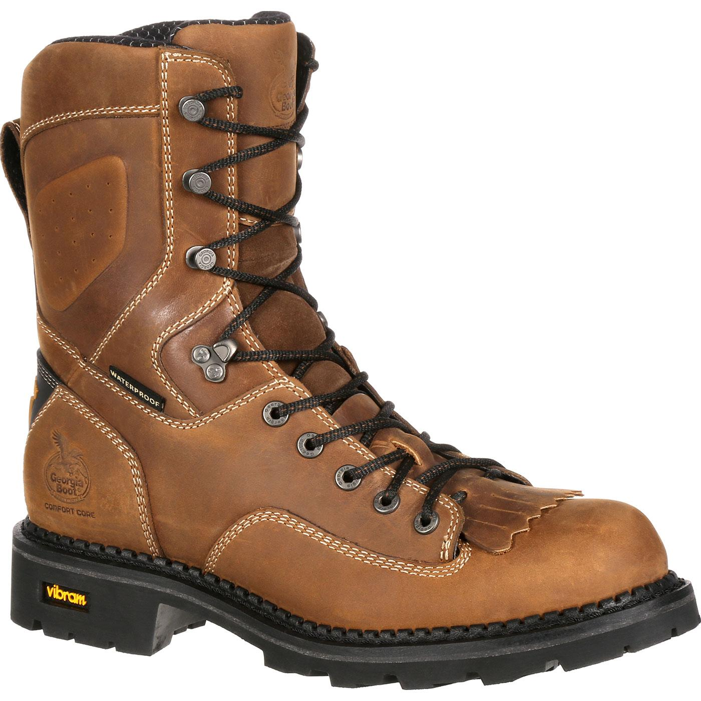 c59ae024e7892b Georgia Boot Comfort Core Composite Toe Waterproof Logger Work Boot