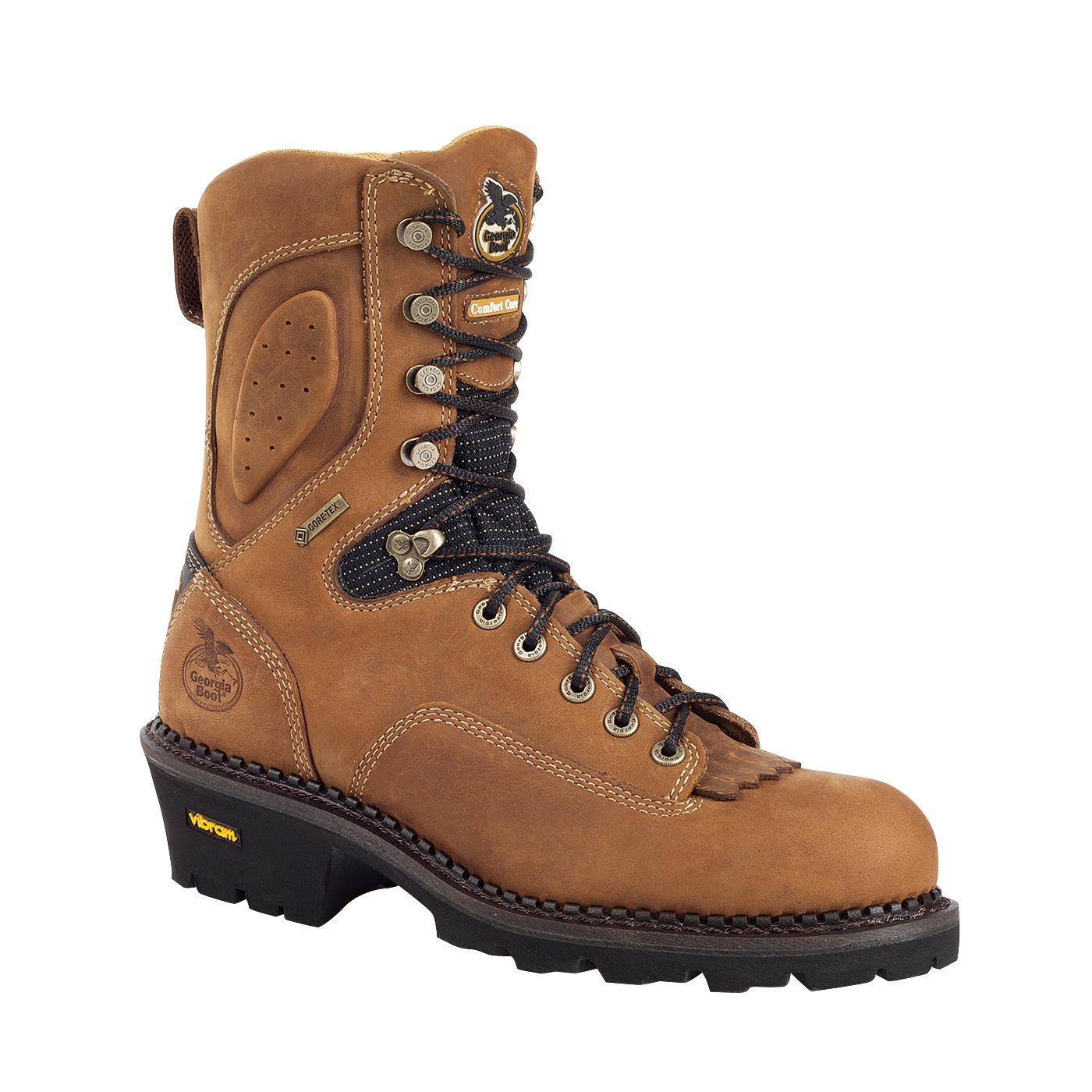 Georgia Gore Tex 174 Waterproof Comfort Core Logger Work Boot