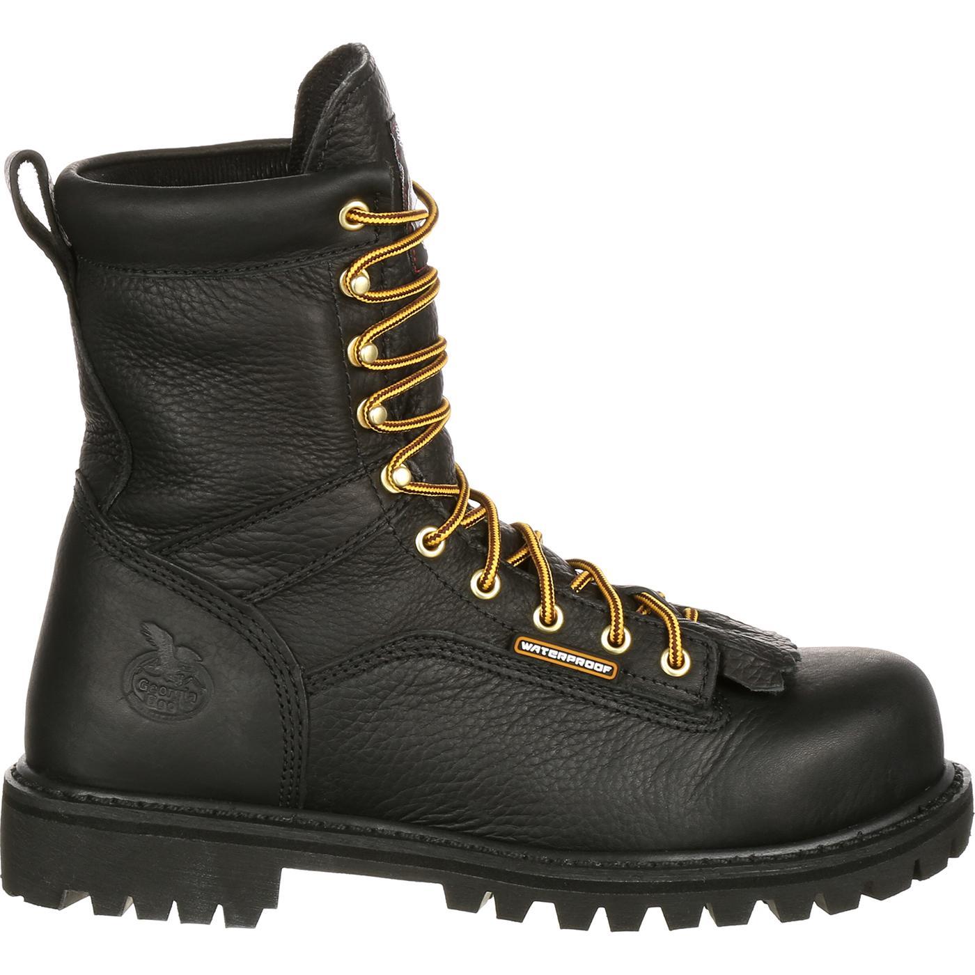 eec2e431fb8 Georgia Boot Waterproof Lace-to-Toe Work Boot