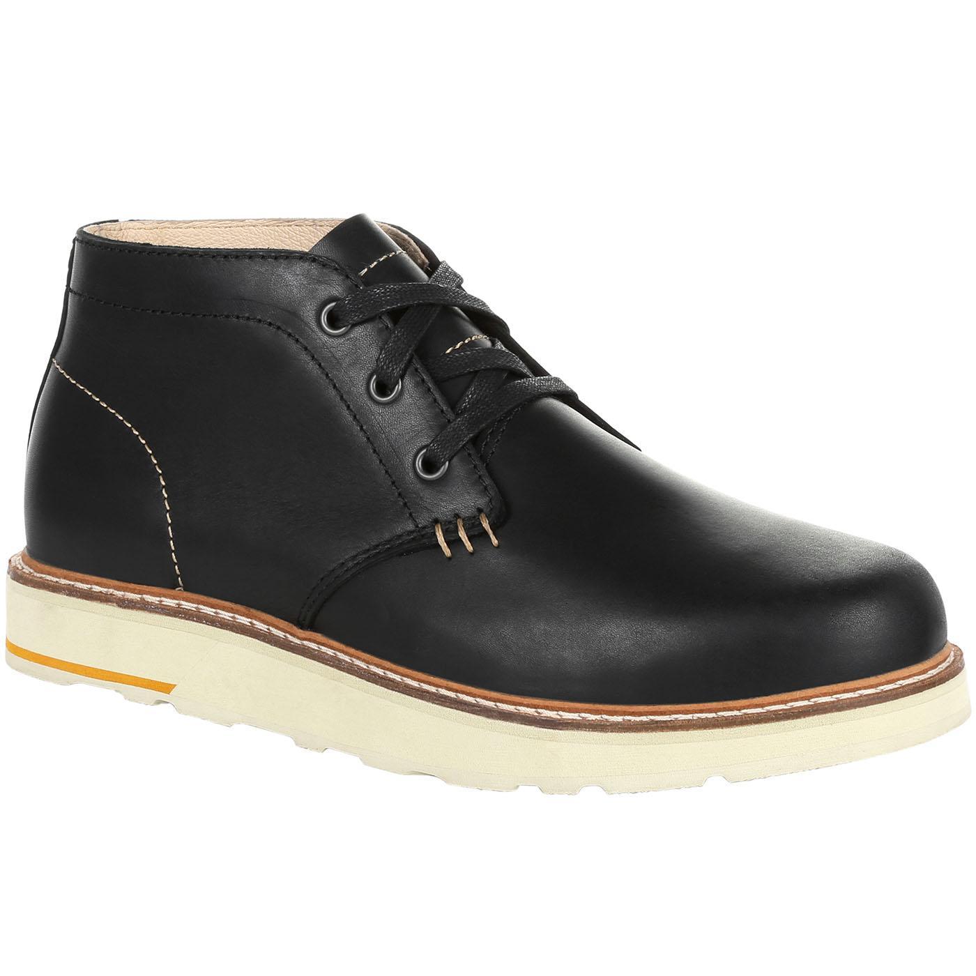 b1adf3f860ad1 Georgia Boot Small Batch Black Chukka Boot