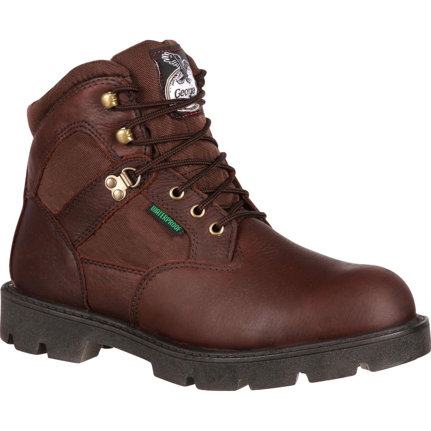 Georgia Homeland Men's Waterproof Work Boot, style #G106