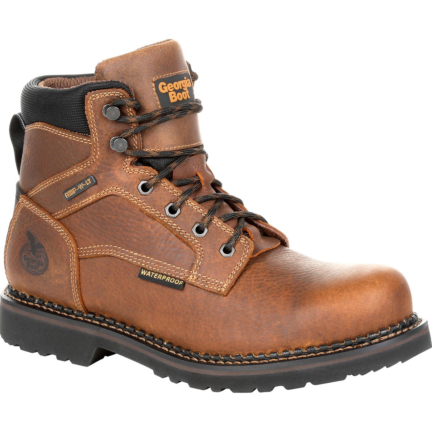 59e6e70770bbf4 Georgia Giant Revamp Steel Toe Waterproof Work Boot, , large