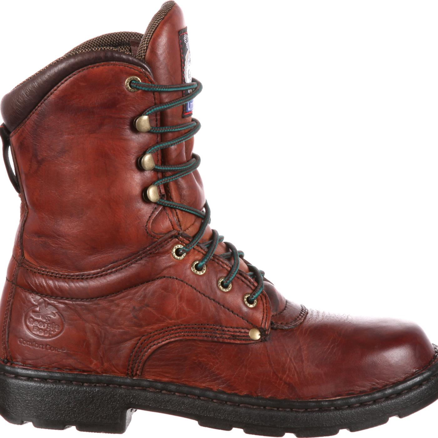Light Work Mens Boots: Georgia Eagle Light Men's Comfort Work Boot, Style G8083