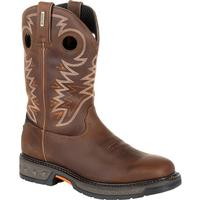 Georgia Boot Carbo-Tec LT Pull-On Work Boot, , medium