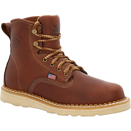 Georgia Boot USA Wedge Steel Toe Work Boot