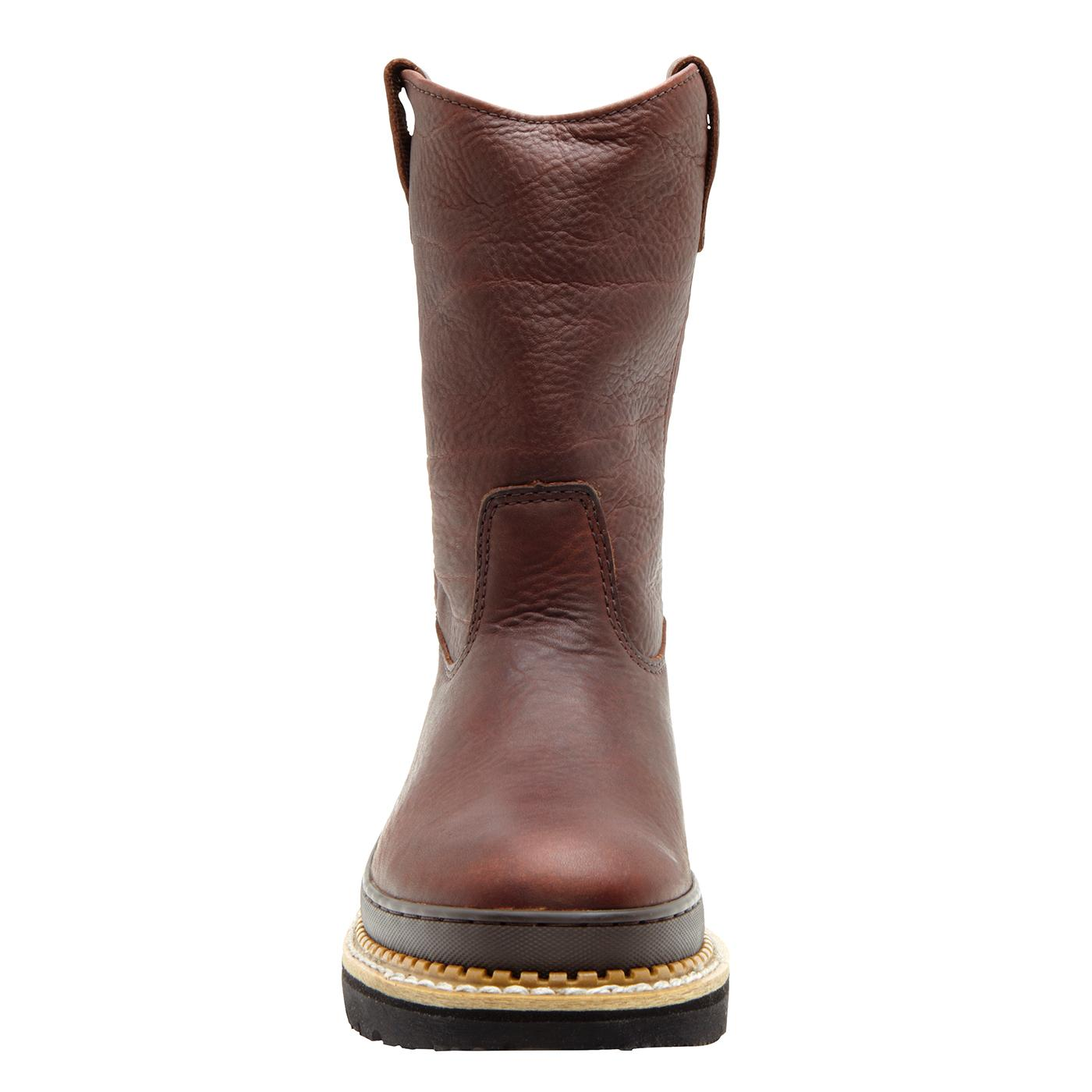 Womens Pull-On High-Top Casual Synthetic Boots