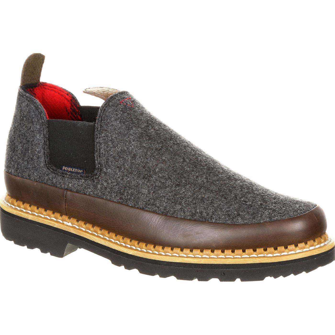 cc769fa5ef8 Georgia Giant Brown and Charcoal Pendleton Romeo Shoe. »