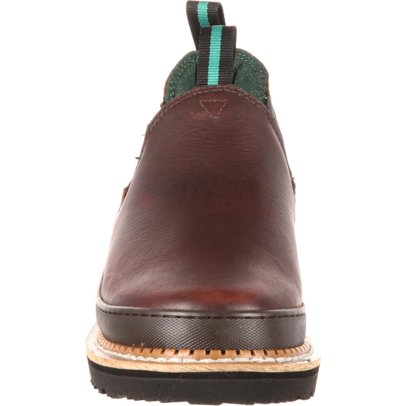 a6dc63a37ac2 Georgia Giant Romeo: Men's Leather Steel Toe Work Shoes