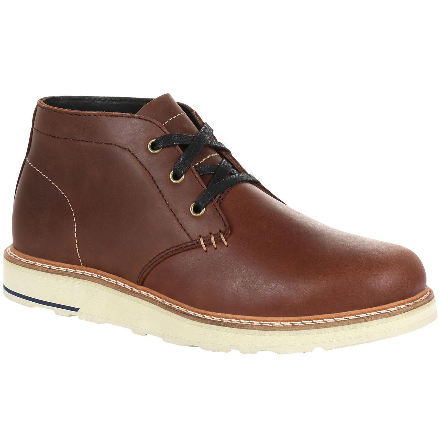 7d0b60e8666 Georgia Boot Small Batch Brown Chukka Boot