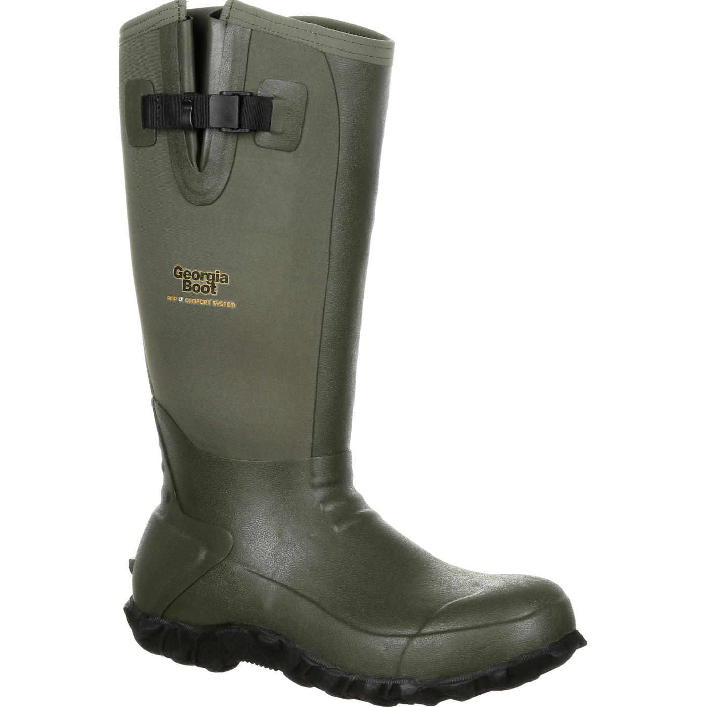 best service ea13d 51759 Georgia Boot Waterproof Rubber Boot, , large