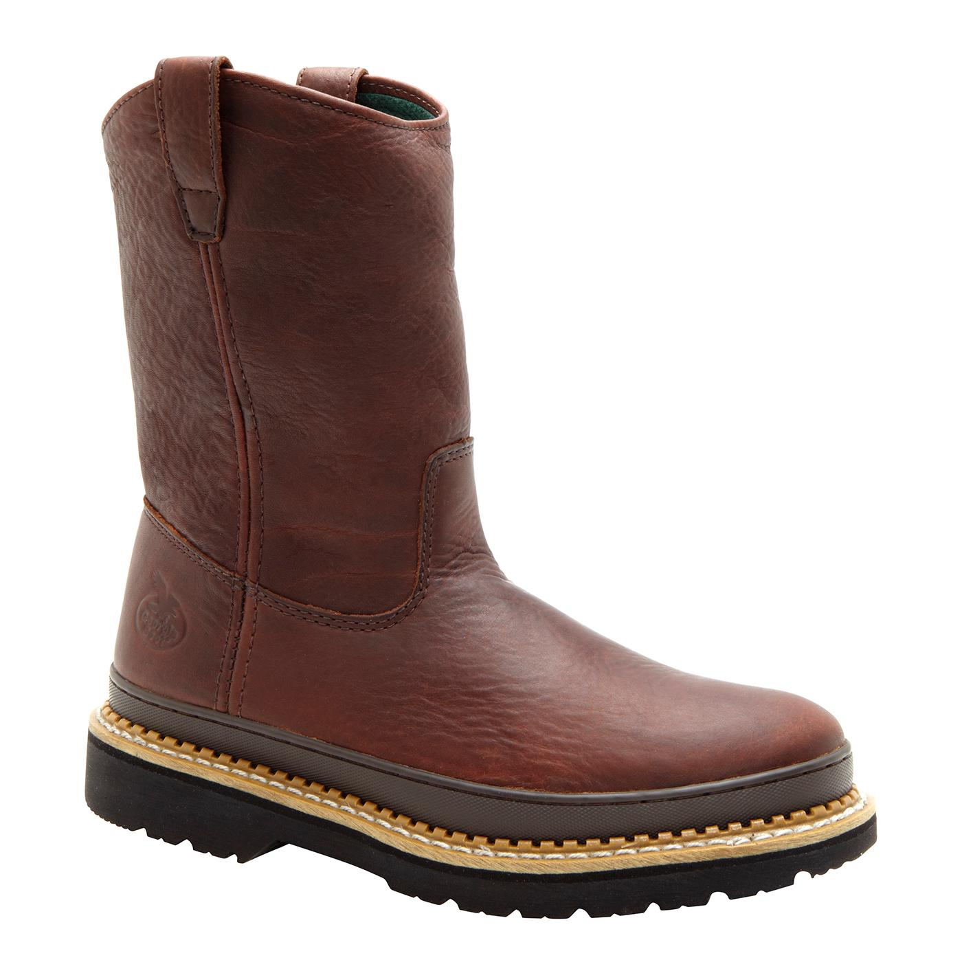 9 Quot Women S Wellington Pull On Work Boot Georgia Boot G3402