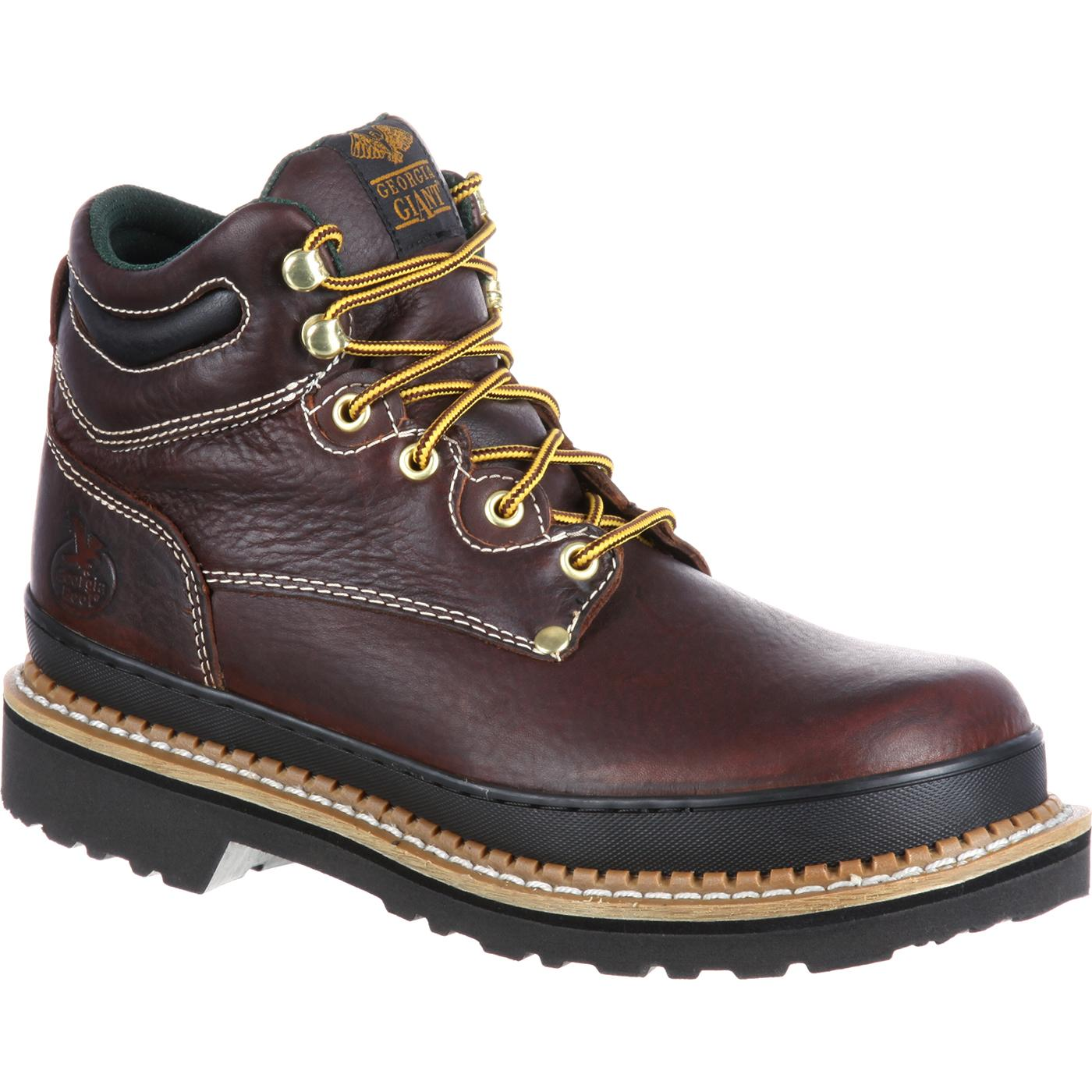 Georgia Giant Oblique Steel Toe Work Boot, , large