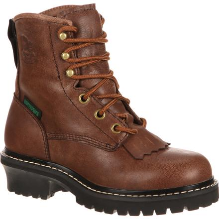 Georgia Boot Little Kids' Waterproof Logger, , large