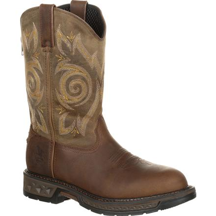 Georgia Boot Carbo-Tec LT Pull-On Work Boot, , large