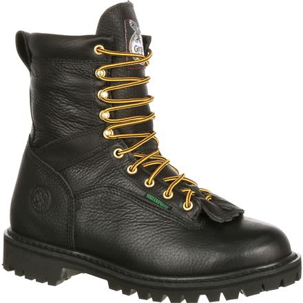 Georgia Boot Lace-to-Toe Steel Toe Waterproof Work Boot, , large