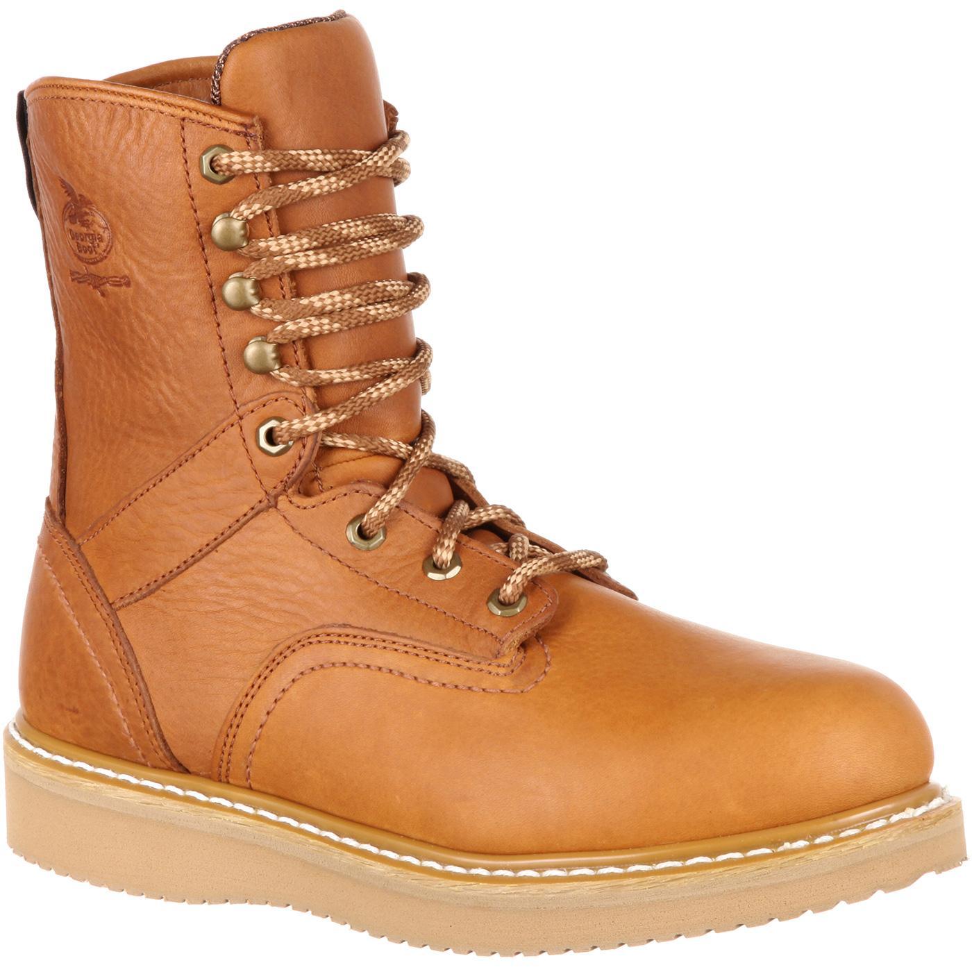 d63b27cc2e5 Georgia Boot Wedge Steel Toe Work Boot