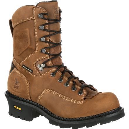 Georgia Boot Comfort Core Logger Composite Toe Waterproof Work Boot, , large