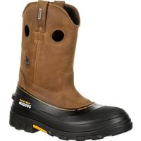 Georgia Boot Muddog Composite Toe Waterproof Work Wellington, , medium