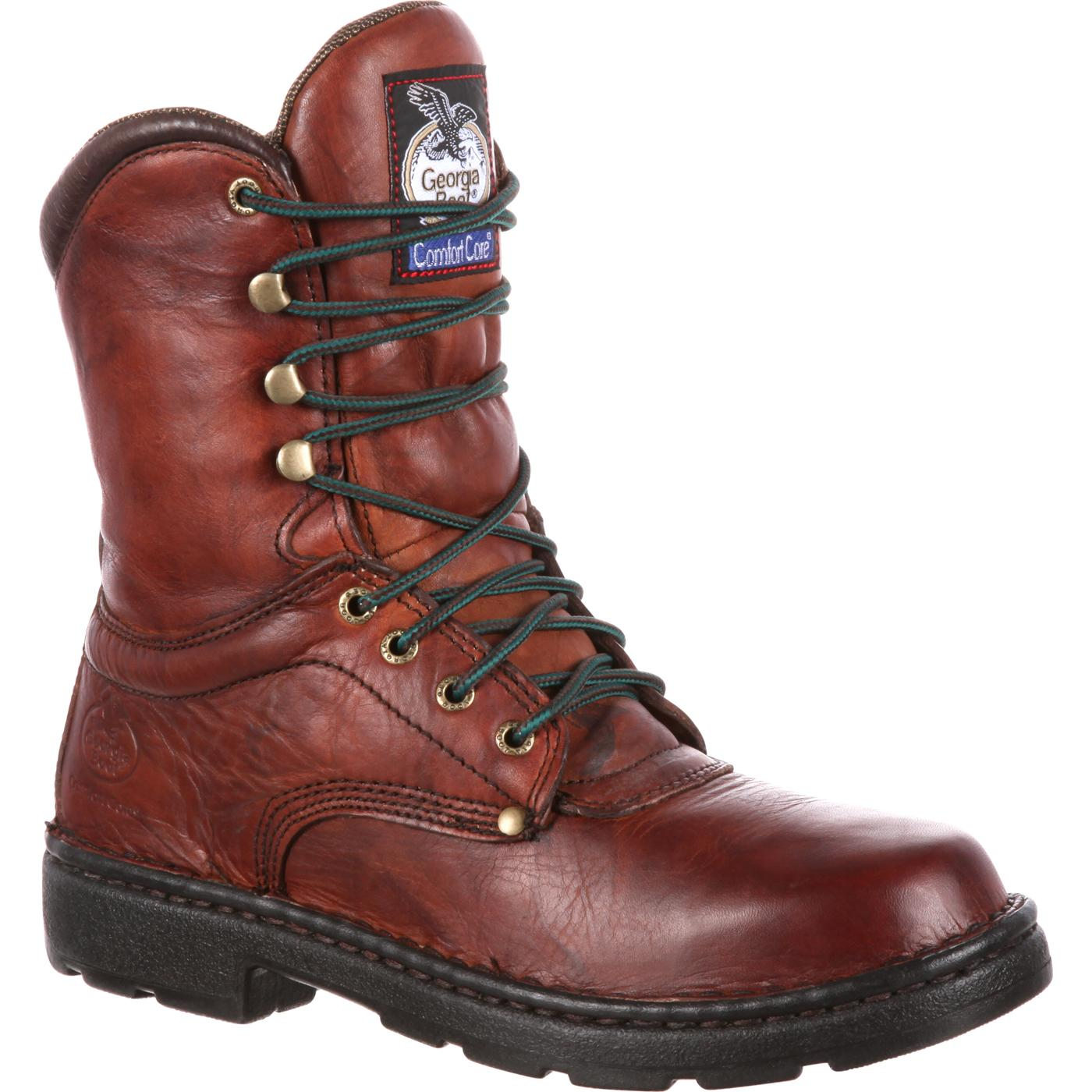 d8e7bec1ab70c4 Georgia Boot Eagle Light Work Boot 8 Inches in height Comfort Core ...