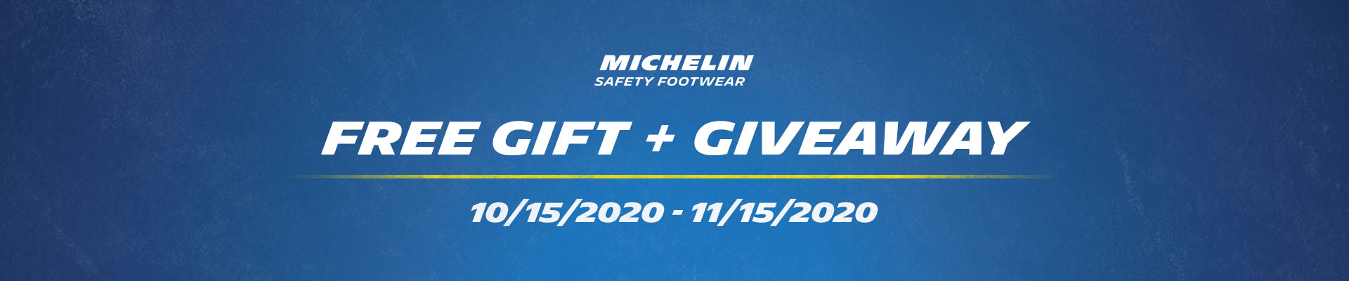 Michelin GWP + Giveaway Banner