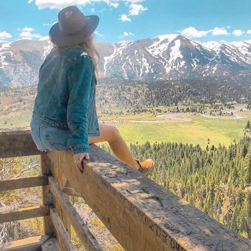 Mountains Instagram Post